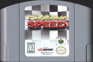California Speed (USA) Cart Scan
